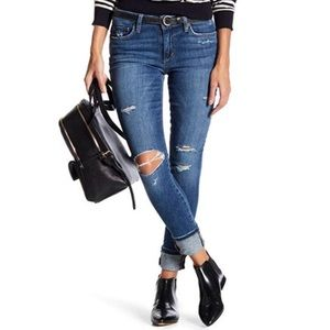 Joe's Skinny Ankle Mid-rise Stretch Jeans Beckett